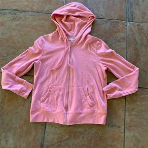 Victoria's Secret pink Angel wing sequin hoodie M